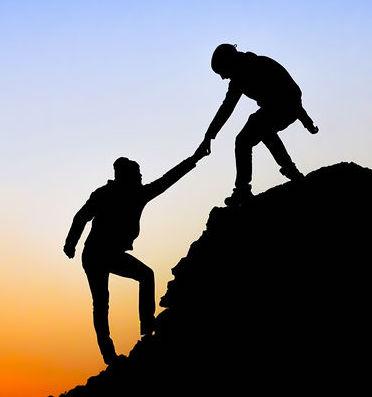 Aide pour gravir la montagne